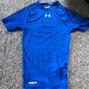 Under Armour compression youth tee